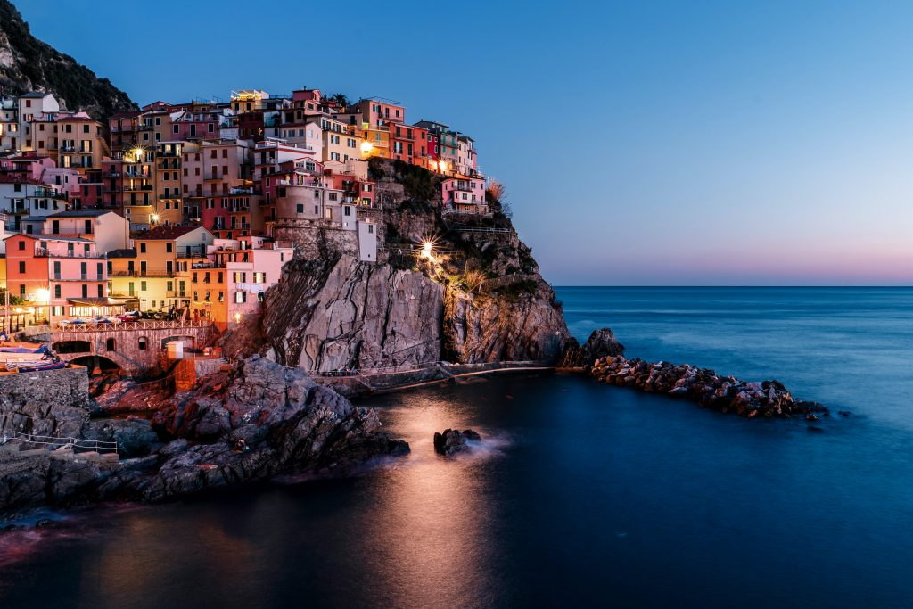 Views of cinque terre, italy